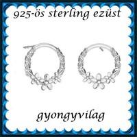 925-ös sterling ezüst: fülbevaló EF 03