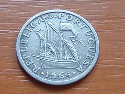 PORTUGÁLIA 2,5 ESCUDOS 1965  #