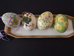 Kèzzel festett húsvéti tojások / Handpainted easter eggs