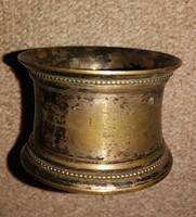 Antik  klasszicista szalvéta gyűrű. Mérete:4 cn nagas.d 6 cm.