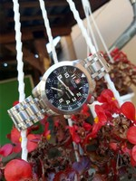 Victorinox Mach IV svájci óra,Breitling,Omega,Rolex,Iwc mellé