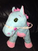 My Little Pony színes kantáros textil póni lovacska ló 33 cm