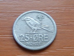 NORVÉGIA 25 ŐRE 1962 MADÁR #