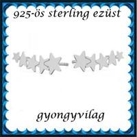 925-ös sterling ezüst: fülbevaló EF 05