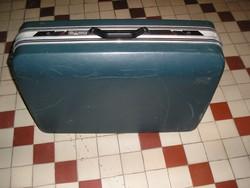 """Keményfedelű, nagyméretű """"SAXOLINE"""" húzható bőrönd (73x54x25 cm)"""