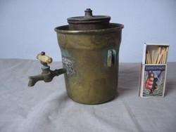 Antik réz kávéfőző. Kertész Tódor Budapest