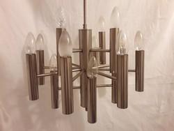 Vintage Mid Century Design Szputnyik/sputnik 16 izzós mennyezeti lámpa csillár