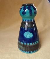 3068 - Ritka, retró halas kerámia váza