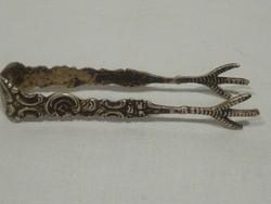 3305 Antik ezüst cukorfogó