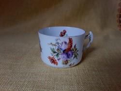 3069 - Hüttl porcelán teás csésze
