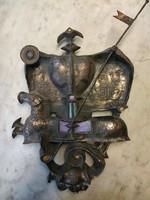 Muharos Lajos sárkányölő szent György bronz