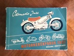 Csizmadia Imre - Motorkerékpárok 1957