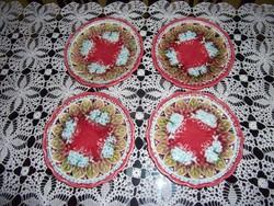 Villeroy & Boch majolika süteményes tányérok