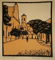 Vadon Benjámin (1885-) : Városrészlet