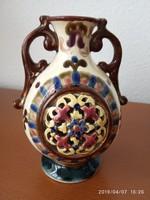 JOSEF STEIDL ZNAIM antik majolika váza