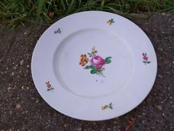2 db neuwien tányér, 1840, bécsi rózsa dekor, hibátlan