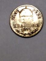 F. J. 10krajcâr.1871.gy.f.