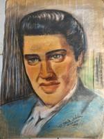 Elvis Presley portrè