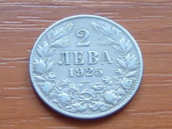BULGÁRIA 2 LEVA 1925 (p) #