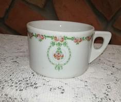 Extra erős porcelán csésze, régi darab,Ritka,Gyűjtői darab
