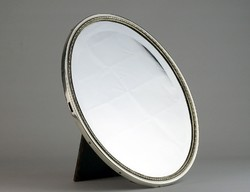 0J712 Sterling 935-ös ezüst keretes tükör 157 g