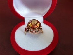 14K antik arany gyűrű / 9,56 g