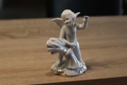 Búzakévét fogó angyalka  15 cm
