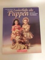 PUPPEN baba könyv antik babák