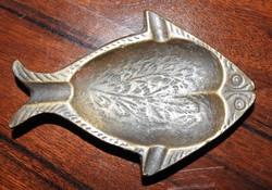 Walter Bosse bronz hal hamutál - hamuzó