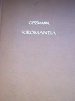 Gessmann: Kiromantia  Kézvonalak és jelentésük. magyar nyelven.