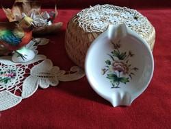Hollóházi porcelán hamutál hibátlan
