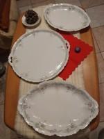 Porcelán tálca 3db-os extra nagy