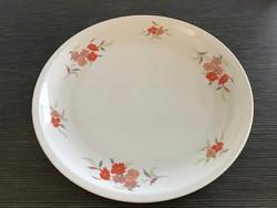 Nagyméretű virágmintás Alföldi porcelán tál