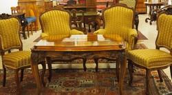 Neobarokk asztal ülőgarnitúrával