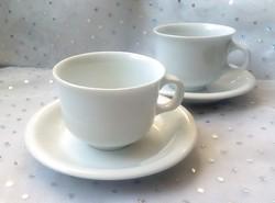 Alföldi fehér Saturnus kávés csészék 2db