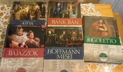 Világhíres operák -könyv + CD
