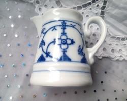 Kék hagymamintás porcelán kiöntő
