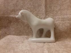 Art deco fehér bika