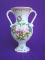 Kecses formájú két fülű kerámia váza