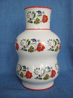 Zsolnay porcelán nagy öblös váza
