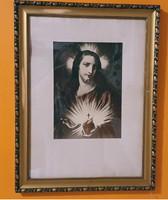 Szentkép, hibátlan képkeretben eladó! 43 cm. x 56 cm.