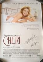 Michelle Pfeiffer autogramja moziplakaton