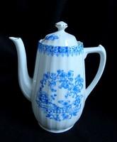 Régi Bavaria China Blau teáskanna