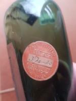 Régi holland gyógyszeres üveg 1802