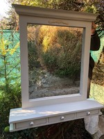 3 fiókos vintage tükör,Garnitúra része