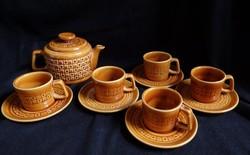 Klasszikus mézbarna Gránit kávéskészlet
