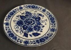 Royal Delfts porcelán falitányér 19 cm