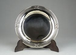 0R151 Régi ezüst keresztelő tálka 56 g