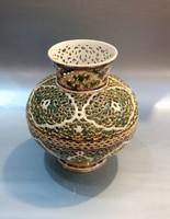 Zsolnay váza az Arab sorozatból