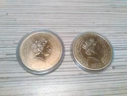 2012 aranyozott olimpiai emlékérmék kapszulával